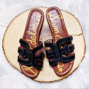Sam Edelman Bay Slide Sandals Size 7.5 NEW $90